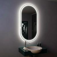 Зеркало с подсветкой настенное для ванной Данте 70х90 см