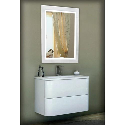 Зеркало в ванную с подсветкой Кора